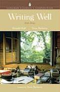 Writing Well Longman Classics in Composition