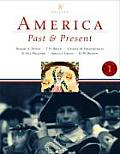 America Past and Present, Volume I