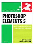 Photoshop Elements 5 For Windows Visual QuickStart Guide