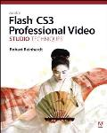 Adobe Flash Cs3 Professional Video Studio Techniques Cover