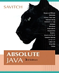 Absolute Java - With CD (3RD 07 - Old Edition)