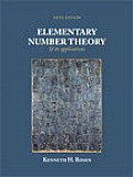 Elementary Number Theory and Its Application (6TH 11 Edition)