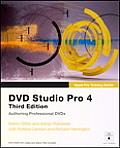 DVD Studio Pro 4 Apple Pro Training Series 3rd Edition