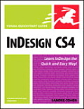 InDesign CS4 for Macintosh and Windows (Visual QuickStart Guides) Cover