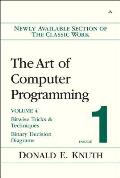 The Art of Computer Programming, Volume 4, Fascicle 1: Bitwise Tricks and Techniques Cover