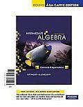 Intermediate Algebra: Concepts and Applications, Books a la Carte Edition