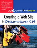 Creating A Web Site In Dreamweaver CS4