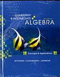 Elementary and Intermediate Algebra: Concepts and Applications Plus Mymathlab Student Access Kit