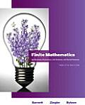 Finite Mathematics for Business, Economics, Life Sciences and Social Sciences