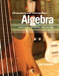 Elementary and Intermediate Algebra (11 Edition)