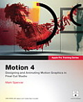 Motion 4 [With DVD] (Apple Pro Training) Cover