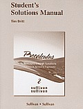 Student's Solutions Manual for Precalculus: Concepts Through Functions, a Unit Circle Approach to Trigonometry Cover