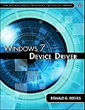 Windows 7 Device Driver (Addison-Wesley Microsoft Technology)