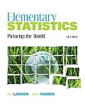 Elementary Statistics: Picturing the World, 5e