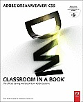 Adobe Dreamweaver Cs5 Classroom in a Book [With DVD] (Classroom in a Book) Cover