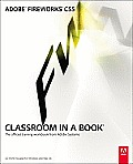 Adobe Fireworks CS5: Classroom in a Book- With CD (10 Edition) Cover