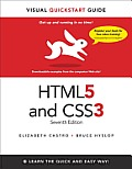 Html5 & Css3 Visual QuickStart Guide (Visual QuickStart Guides) Cover
