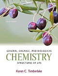 General, Organic, and Biological Chemistry: Structures of Life Cover