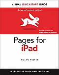 Pages for Ipad: Visual QuickStart Guide (Visual QuickStart Guides) Cover