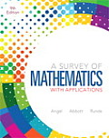 Survey of Mathmatics With Applications - Text Only (9TH 13 Edition)