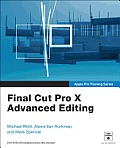 Apple Pro Training Series: Final Cut Pro X Advanced Editing Cover