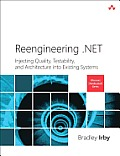 Reengineering .Net: Injecting Quality, Testability, and Architecture Into Existing Systems (Microsoft .Net Development) Cover