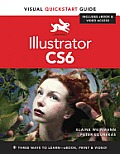 Illustrator Cs6: Visual QuickStart Guide (Visual QuickStart Guides) Cover