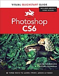 Photoshop Cs6: Visual QuickStart Guide (Visual QuickStart Guides) Cover