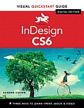 InDesign CS6 with Access Code (Visual QuickStart Guides) Cover