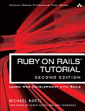 Ruby on Rails Tutorial: Learn Web Development with Rails (Addison-Wesley Professional Ruby) Cover