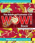 The Adobe Illustrator CS6 Wow! Book (Wow!) Cover