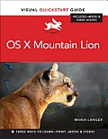 OS X Mountain Lion: Visual QuickStart Guide (Visual QuickStart Guides) Cover