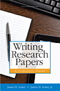 Writing Research Papers (Spiral) (15TH 15 Edition)