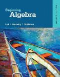 Beginning Algebra Margaret L Lial American River College John Hornsby University Of New Orleans Terry Mcginnis