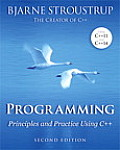 Programming Principles & Practice Using C++ 2nd Edition