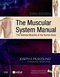 Muscular System Manual The Skeletal Muscles of the Human Body 3rd edition