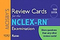 Mosby's Review Cards for the NCLEX-RN? Examination
