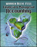 Financial & Managerial Accounting 7th Edition