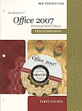 New Perspectives on Microsoft Office 2007, First Course, Looseleaf, Premium Video Edition