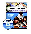 Toolkit Texts, Grades 4-5: Short Nonfiction for Guided and Independent Practice [With CDROM]