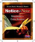 Notice & Note Strategies for Close Reading
