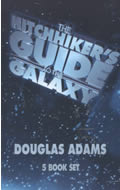 Hitchhikers Guide To The Galaxy 5 Volumes