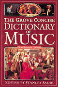 Grove Concise Dictionary Of Music