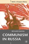 Communism in Russia (Studies in European History) Cover