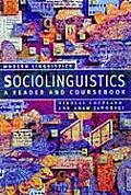 Sociolinguistics A Reader & Coursebook