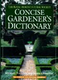 Rhs Shorter Dictionary Of Gardening