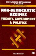 Non-Democratic Regimes: Theory, Government and Politics