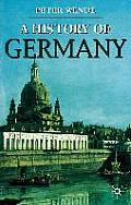 A History of Germany (Palgrave Essential Histories) Cover