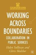 Working Across Boundaries: Collaboration in Public Services