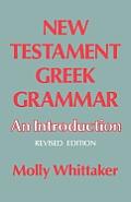 New Testament Grammat: An Introduction